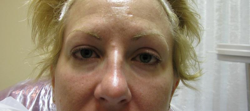 Lower Eyeliner Before
